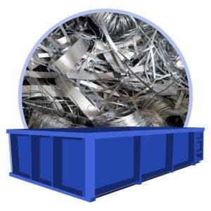 container afval metalen